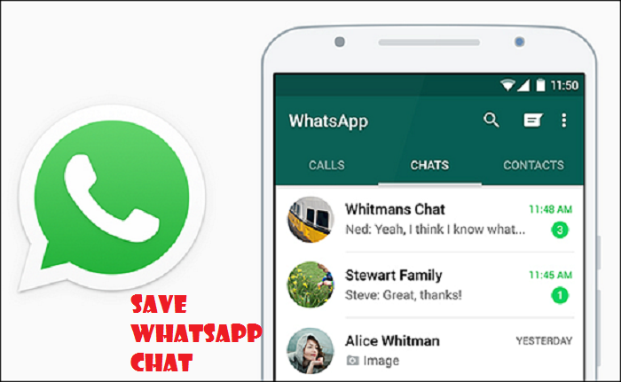 How to Save Whatsapp Chat From iCloud, Android, iPhone and PC