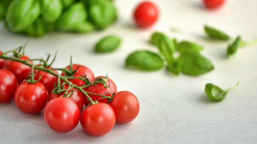 Five appetizer recipes with cherry tomatoes perfect for a summer weekend snack