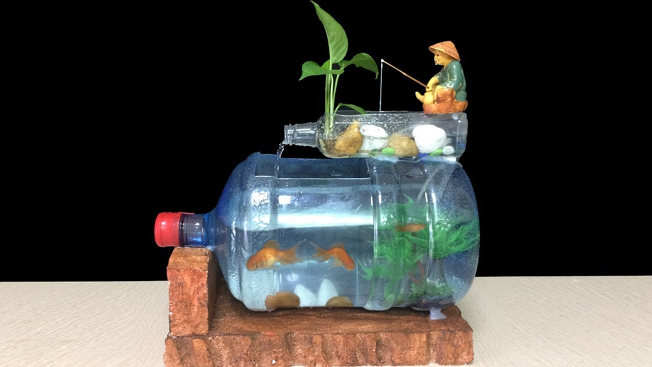 How to make a fish tank