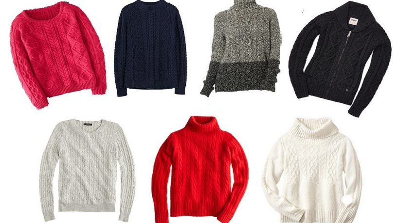6 types of sweaters that you cannot miss this season