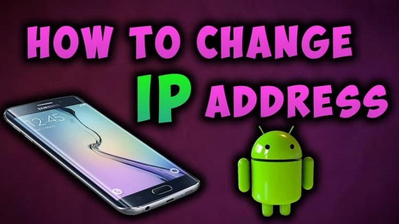 How to change ip address on android phone