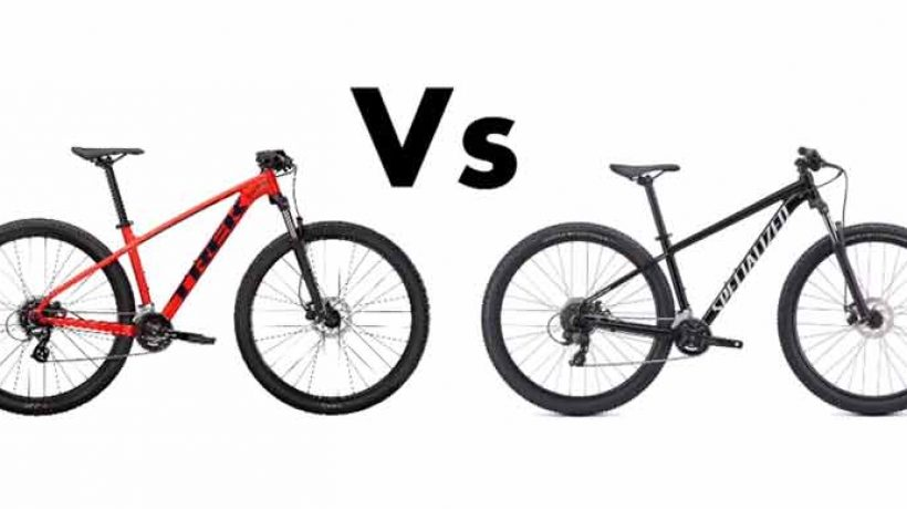 Comparison of Trek Marlin and Specialized Rockhopper
