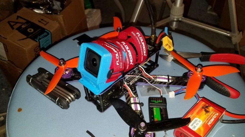 How long does a drone 4s lipo battery take to charge?