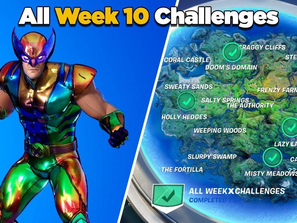 Fortnite week 10 challenges