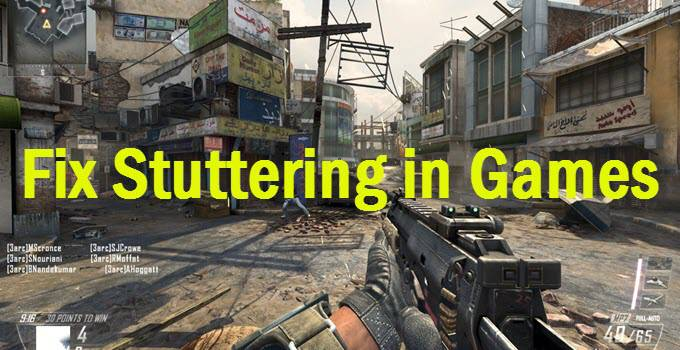 How to fix mouse stuttering in games