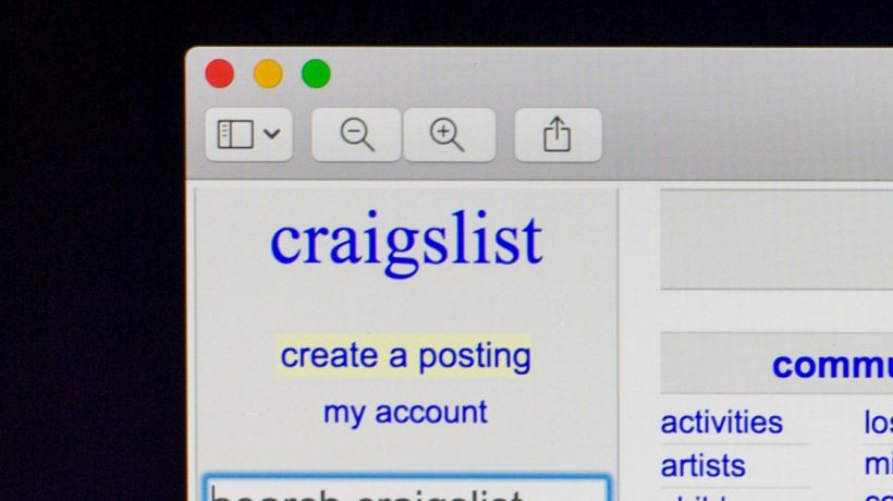 Why I can't find my post on craigslist? Solved!