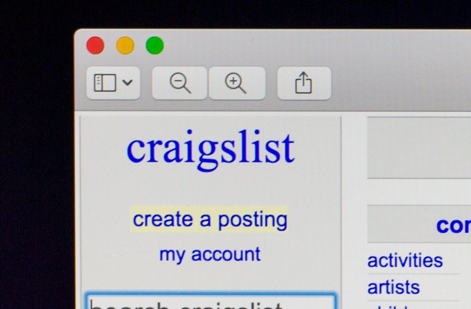 can't find my post on craigslist